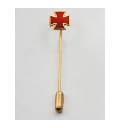 Masonic pin cross