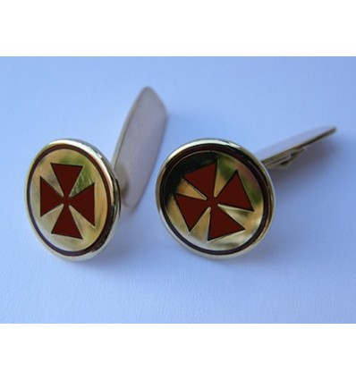 Masonic gold Cufflinks 8th degree