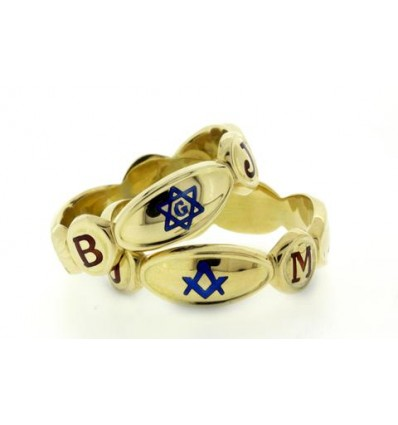 Masonic Ring 3th degree 14k gold