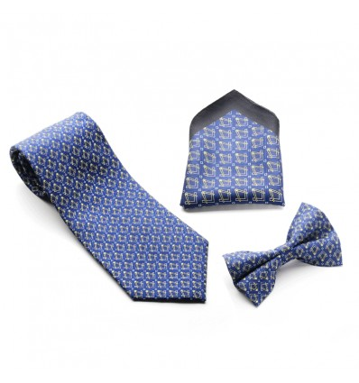 Masonic Craft 100% Silk Tie, Bowtie & Handkerchief