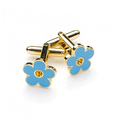 Forget me Not Masonic Cufflinks