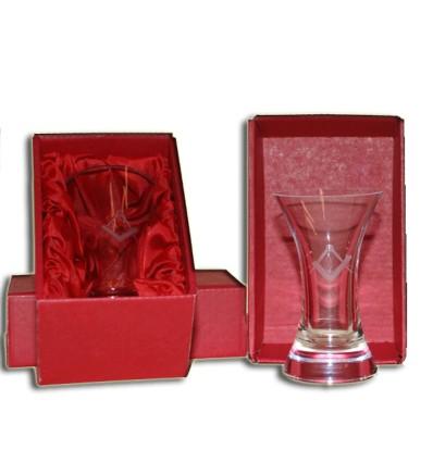 Frimurer rakkerglas mesterglas