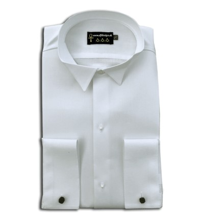 Masonic White Tie Shirt