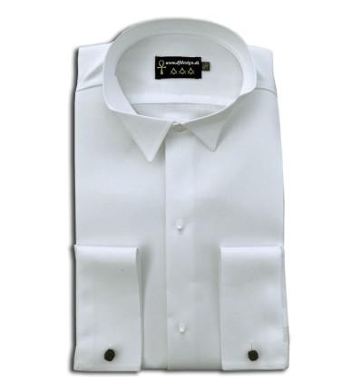 Frimurer skjorte til kjole & hvidt