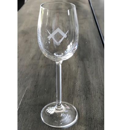 Masonic Port Glass