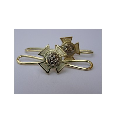 Masonic dress shirt studs gold 9th degree