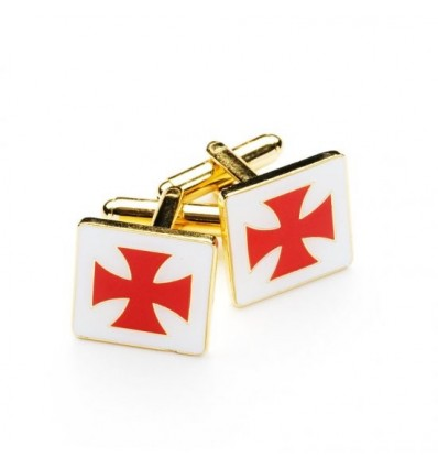 Knights Templar Masonic Cufflinks